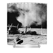 Dust Bowl, 1935 Shower Curtain