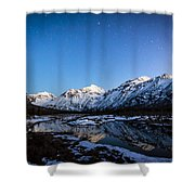Eagle River Nature Center Shower Curtain