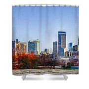 Early Morning In Charlotte Nc Shower Curtain