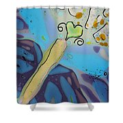 Earth Love Butterfly Shower Curtain