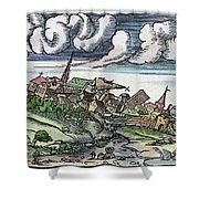 Earthquake, 1550 Shower Curtain