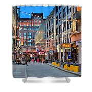 East Fourth Street In Cleveland Shower Curtain