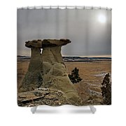 East Montana Country Shower Curtain