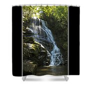 Eastatoe Falls North Carolina Shower Curtain