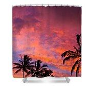 Easter Island Sunrise 2 Shower Curtain