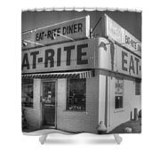 Eat Rite Diner Route 66 Shower Curtain