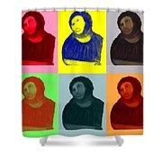 Ecce Homo - Warhol Style Shower Curtain