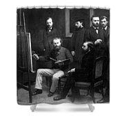 Edouard Manet (1832-1883) Shower Curtain