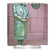 Eleanor Roosevelt -- 1 Shower Curtain by Cora Wandel