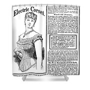 Electric Corset, 1882 Shower Curtain