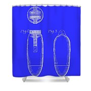 Electric Razor Patent 1939 Shower Curtain
