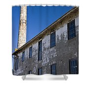 Electrical Repair Shop Alcatraz Island Shower Curtain