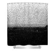 Elephant Grass And View Of Bridge Shower Curtain