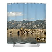 Eleven Mile State Park Shower Curtain