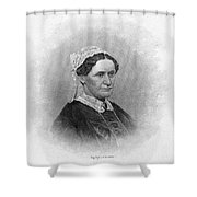 Eliza Mccardle Johnson (1810-1876) Shower Curtain