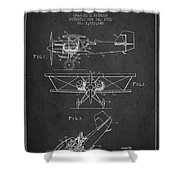 Emergency Flotation Gear Patent Drawing From 1931 Shower Curtain by Aged Pixel