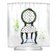 Emma Chair Shower Curtain