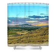 Emmett Valley Shower Curtain