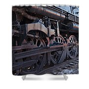 Engine 5629 In The Colorado Railroad Museum Shower Curtain