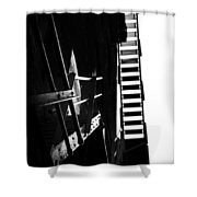 Escaping The Darkness Shower Curtain