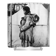 Eskimo Woman And Child Shower Curtain