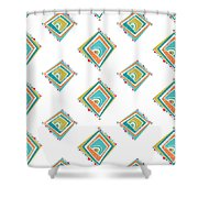 Ethnic Window Shower Curtain by Susan Claire