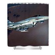 Eurofighter  Shower Curtain