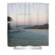 Evening Overlook Shower Curtain