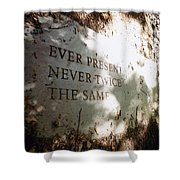 Ever Present Never Twice The Same Shower Curtain