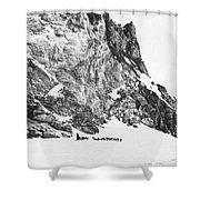 Explorer Roald Amundsen Shower Curtain