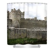 Exterior Of Cahir Castle Shower Curtain