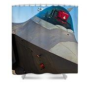 F-22 Raptor Jet Shower Curtain