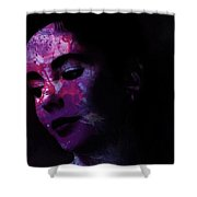 Facets Of Beauty Shower Curtain