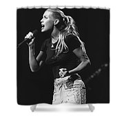Faith Hill Shower Curtain