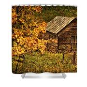 Fall At The Farm Shower Curtain