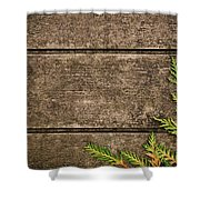 Fall Background Shower Curtain