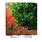 Fall Garden Shower Curtain