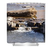 Falls Park Waterfall Shower Curtain