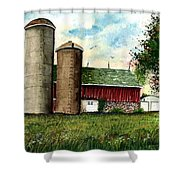 Family Farm Shower Curtain