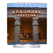 Famous Egyptian Theater In Hollywood California. Shower Curtain