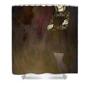 Fantasy Portrait Shower Curtain