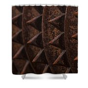 Farm Equipment Abstracts Shower Curtain