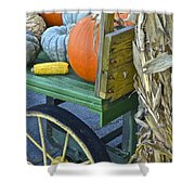 Farmers Market Shower Curtain