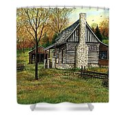 Farming Time Shower Curtain