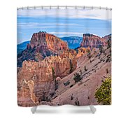 Farview Point At Bryce Canyon Shower Curtain