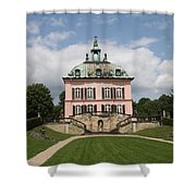 Fasanen Schloesschen - Germany    Pheasant Palace  Shower Curtain