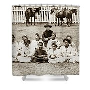 Father Damien (1840-1889) Shower Curtain
