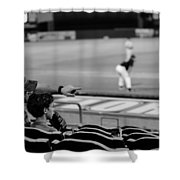 Father To Son Shower Curtain