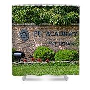 Fbi Academy Quantico Shower Curtain
