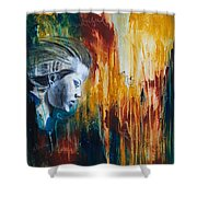 Fearless Woman Shower Curtain